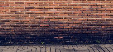 vochtige buitenmuren